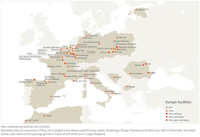 Europe Operational Map